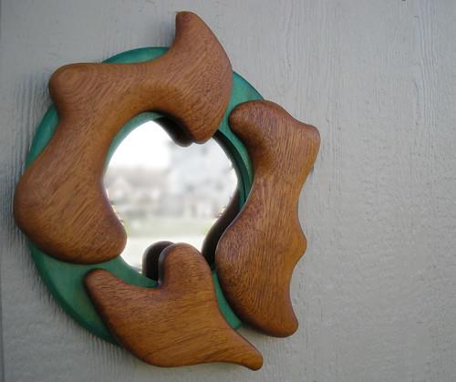 Brazan Design Modern Round Wall Mirror