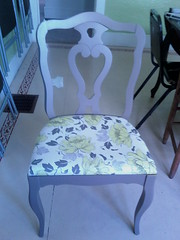 redone chairs