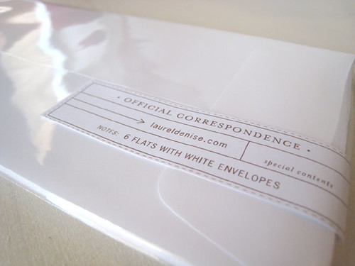 Laurel Denise Envelopes