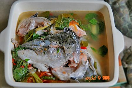 salmon sour sauce