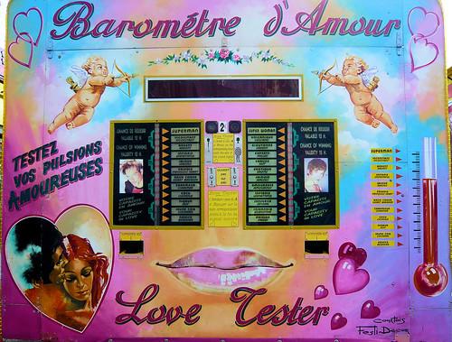 Baromètre d'Amour // Love Tester