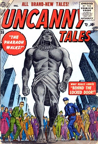 Uncanny Tales 38 cov