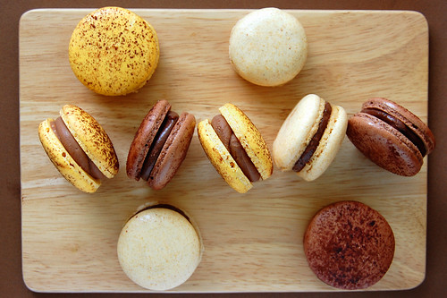 Assorted Macarons with Fruit Ganache