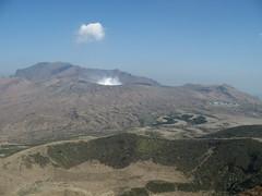 Mt Aso caldera