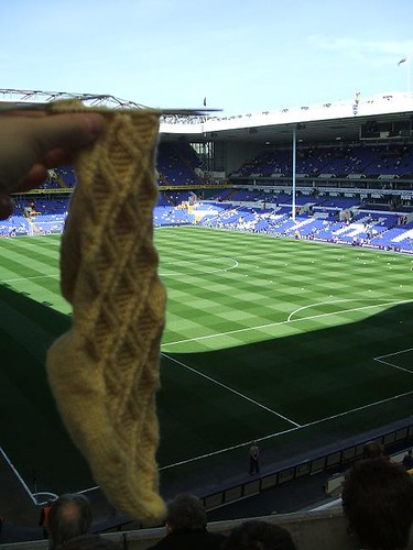 sock at White Hart Lane
