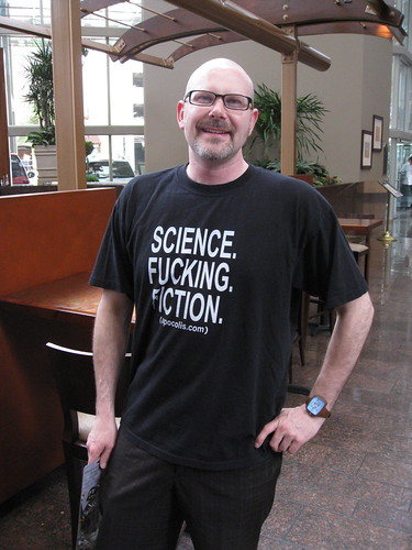 Science. Fucking. Fiction. That's right.