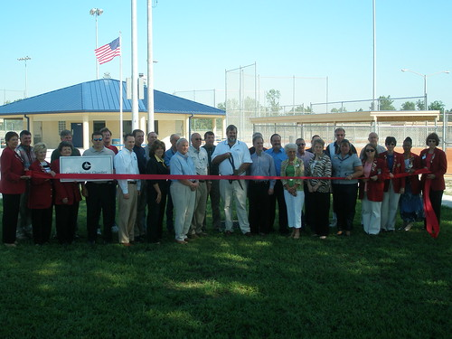 Bartow Softball Ribbon Cutting