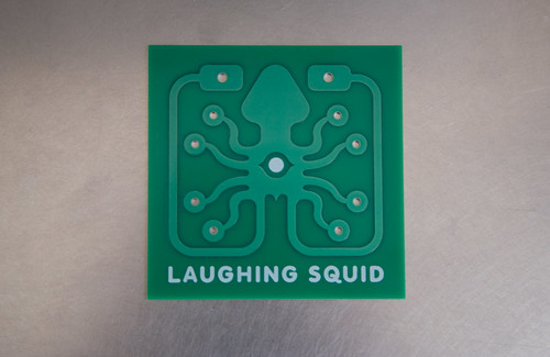 Laughing Squid Logo PCB