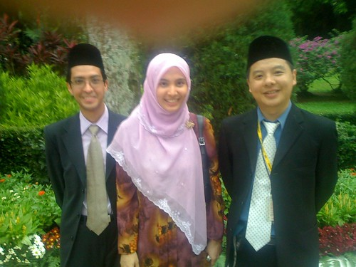 Nurul Izzah at Istana Negara Garden Tea Party