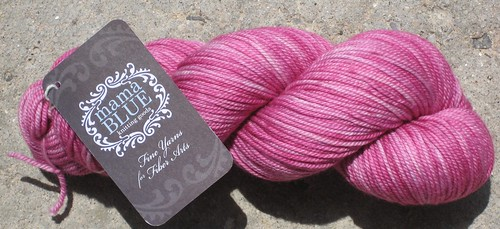 mama blue yarn,Talulah Colourway