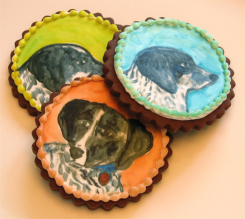 Dog Portrait Cookies