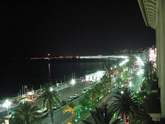 Nice Beach at Night (SaudiSoul) Tags: