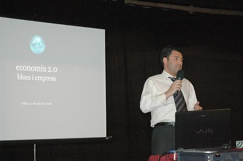 Marc Vidal, economia 2.0 a Gelida