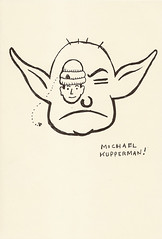 Yoda sketchbook page 78 - Michael Kupperman