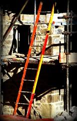 Jacob's ladder (philwirks) Tags: red yellow ladder picnik myfavs luminosity philrichards show08 unlimitedphotos sonyalphadslra200