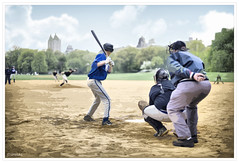 Play Ball!!!! (Espinal Photography) Tags: park game sports cutout baseball centralpark players catcher juego pitcher deportes umpire playball jugadores ef50mmf14usm bateador canoneos5d bater
