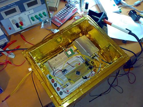 Altres components electrònics per provar (gps+rà dio)