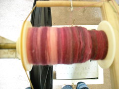 Crown Mountain Farms fibers spun