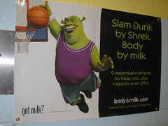 Shrek Scores! (ohwhatachristy) Tags: june 2008 milkad shrekposter