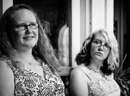 Kristin and Alison
