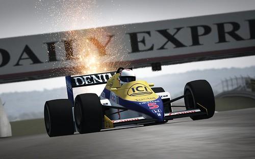 Mansell Silverstone 85