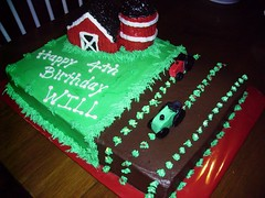 Will's Tractor Cake