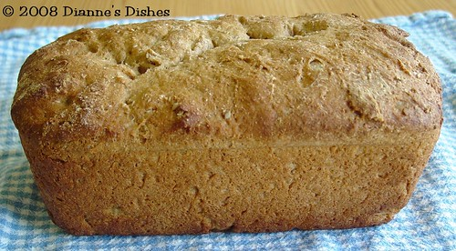 Whole Wheat Sunflower Seed Bread: Ready to Slice