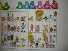Printers Tray (bellasbooks) Tags: bear vintage children toy rainbow strawberry bears plastic tray smurf care gummi printers brite shortcake sunni