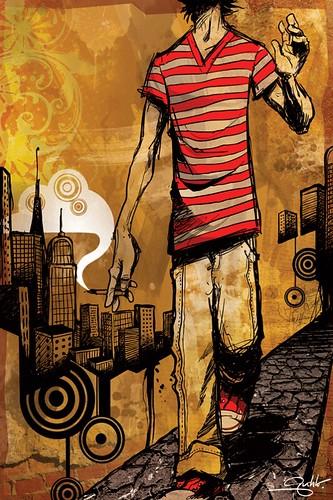 Fantastic Illustrations by Gustavo Sobral