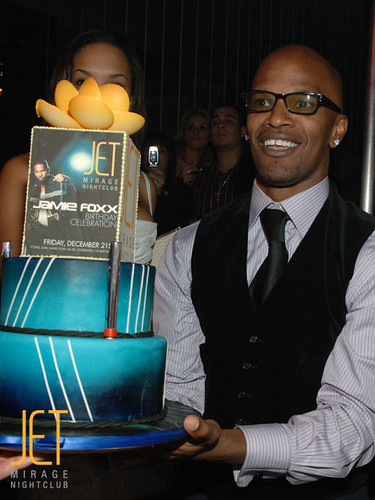 Jamie Foxx at JET Nightclub