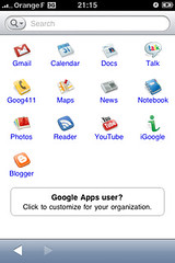 google mobile applications