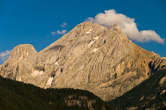 El Gran Vernel desde Canazei (jtsoft) Tags: sunset mountains landscape italia olympus dolomiti alpenglow canazei e510 valdifassa granvernel enrosadira jtsoftorg zd1260mmswd