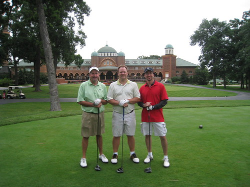Dan Perry at Medinah Country Club, Medinah, Illinois