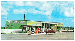THEN: Gatorland in South Bay, Florida 1960s postcard (mainmanwalkin) Tags: abandoned florida everglades southbay sugarcane palmbeachcounty gatorland highway27 us27 ushighway27 evergladesgatorland claudepeppermemorialhighway