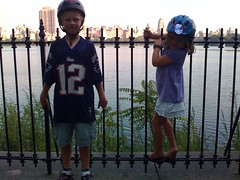 Lucas and Maya in Central Park (sommerspeople) Tags: fone