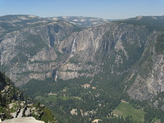 On top of the Glacier Point, Yosemite Valley