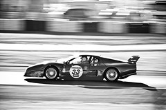 Ferrari 512 BB LM (VJ Photography (www.vjimages.be)) Tags: blackandwhite bw france classic canon blackwhite zwartwit ferrari bb lm 2008 lemans 512 zw nart vjimages 512bblm 40d ferrari512bblm vjphotography northamericanracingteam
