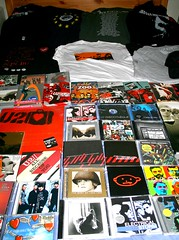 09.08.08 - Secret #6 - I'm a sad fan (JoanneHAMorgan) Tags: music u2 merchandise cds tshirts dvds hpad