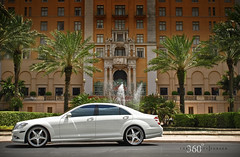 360 Forged Mercedes S550 on Straight 5ive (360 Forged) Tags: white mercedes nikon florida miami wheels 360 mia d200 straight rims fla forged concave 305 5ive hre vossen s550 hrewheels adv1 vossenwheels 360forged advanceone deepconcave adv1wheels adv05