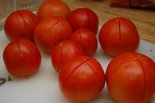 Clothed tomatoes