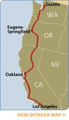 Amtrak: Coast Starlight