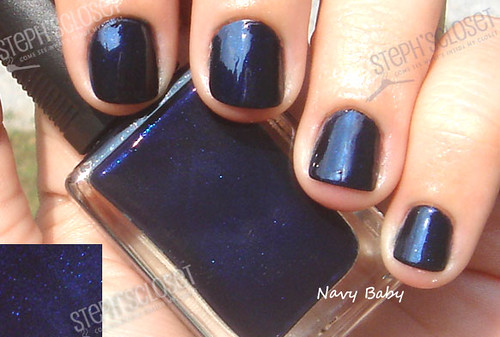 Art nail navi blue for finger nails art
