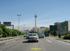 Tehran -6 (IranMap) Tags: tower iran capital tehran milad tehranstreet iranphoto khiyabonayetehran iranmapcom