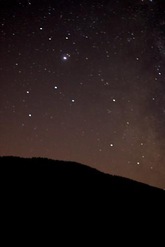 Jupiter et la Constellation du Sagittaire