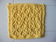 Little lace dishcloth