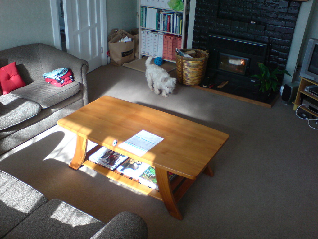 New Rimu coffee table
