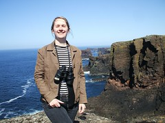 Me by the Eshaness Cliffs (Queenbie) Tags: self coast shetland eshaness northmavine