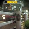 bus stop (F_blue) Tags: bus tokyo sticker kodak hasselblad stm kichijoji guardrail qp 500cm 吉祥寺 portra160nc planart querenciapeligrosa c8028 fblue2008