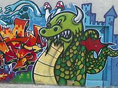 Dragon (yusker) Tags: grafitty