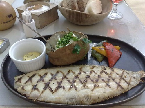 Grilled Whole Dover Sole